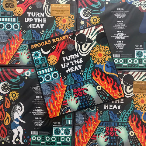 OUT NOW! Reggae Roast - Turn Up The Heat!