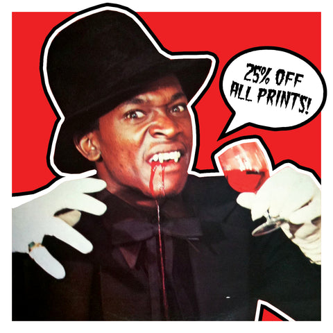 SALE: 25% Off All Prints This Halloween!