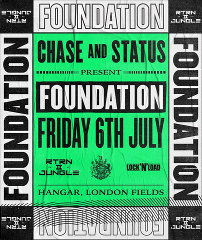 LIVE STREAM: Reggae Roast play at Chase & Status' Foundation Session