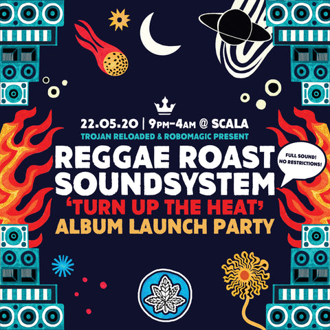 ANNOUNCEMENT:  Reggae Roast Soundsystem Album Launch Party!