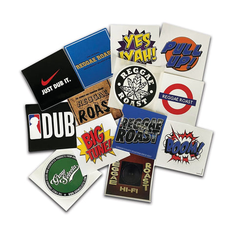 BUY: New Reggae Roast Sticker Packs!