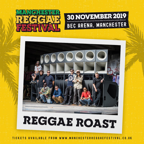 Reggae Roast Play at Manchester Reggae Festival 30th Nov