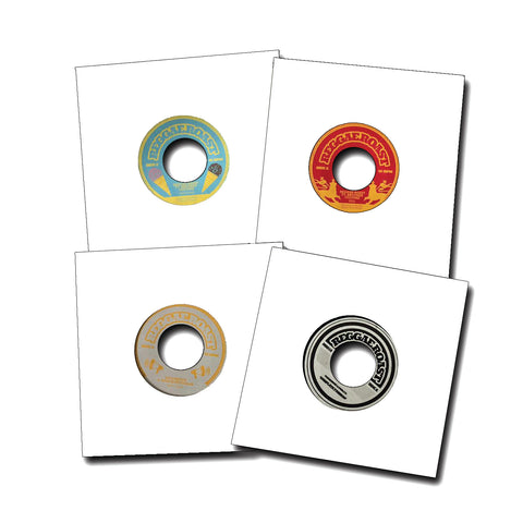 "4 x Reggae Roast 7"" (part 2)- Vinyl Bundle (Save £12)"