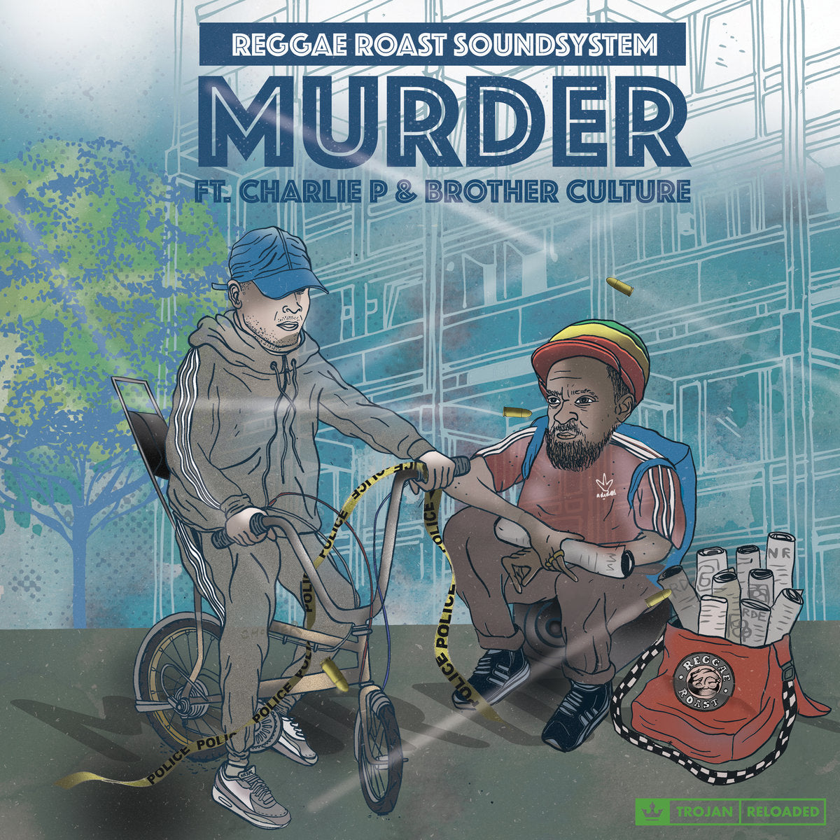 Reggae Roast - Murder EP (Feat. Charlie P & Brother Culture)
