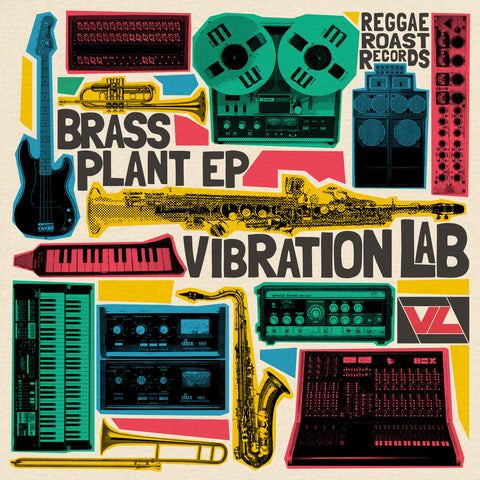 BRASS PLANT EP - VIBRATION LAB - DIGITAL DOWNLOAD