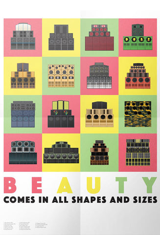 'Beauty Comes In All Shapes and Sizes' Artist Print