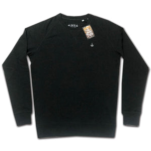 THTC Dark Grey Organic Cotton Sweater