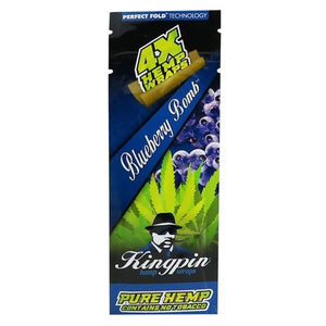 Kingpin Blueberry Hemp Blunts (No Tobacco)