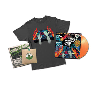 Turn Up The Heat + T-Shirt + Trojan Singles Bundle