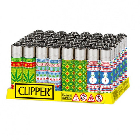 Christmas Ganja Clipper Lighter