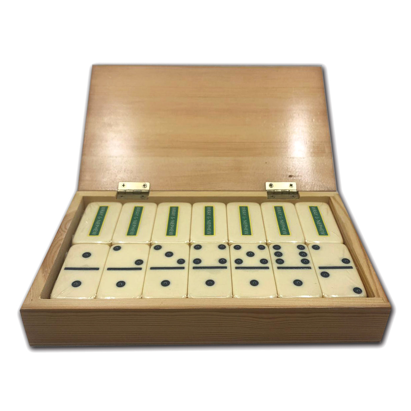 Wray & Nephew Domino Wooden Box Set
