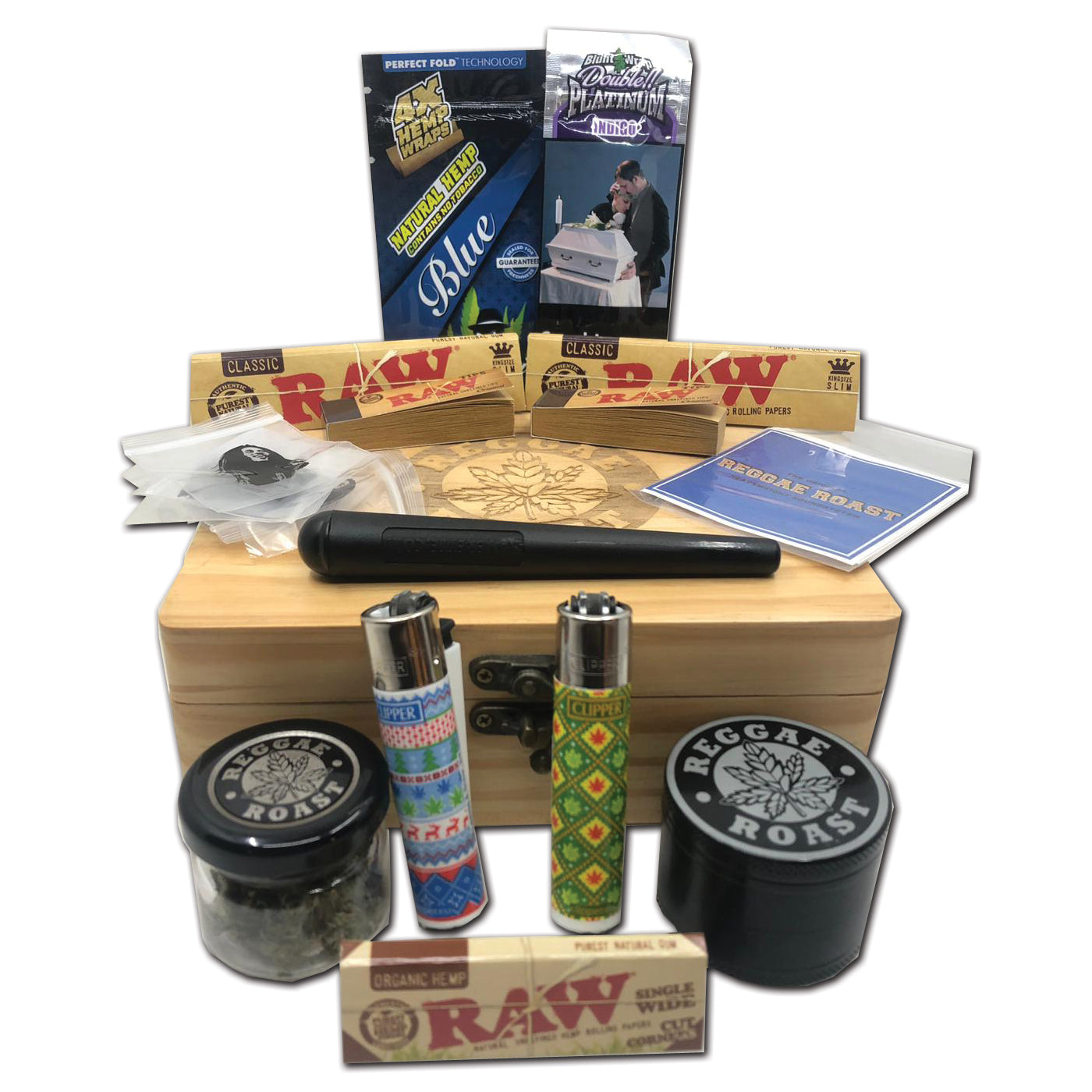 Reggae Roast Stash Box Bundles