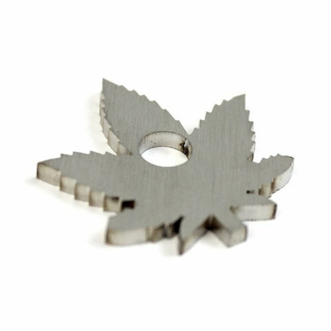 "Ganja Leaf 7"" Vinyl Adapter"