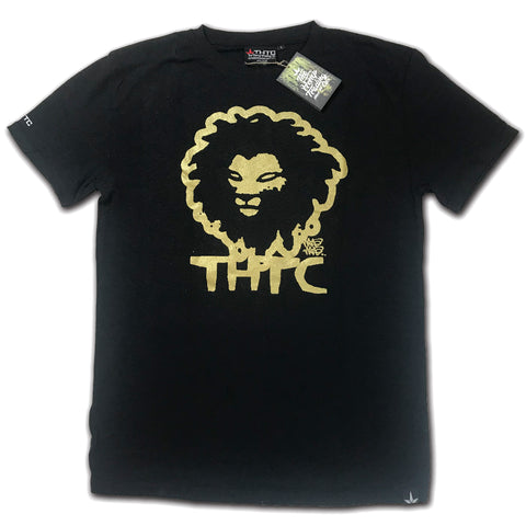 THTC GOLD LION - ORGANIC HEMP T-SHIRT
