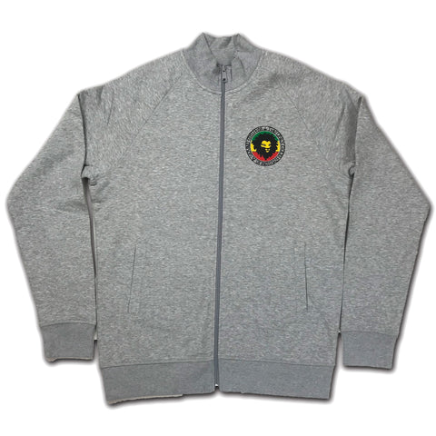 System of a Mau (Organic Cotton Jacket Zip Top) Grey