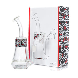 Glass Concentrate Rig by Keith Haring