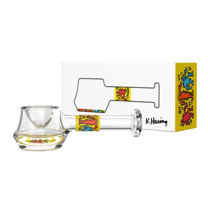 Glass Spoon Pipe by Keith Haring