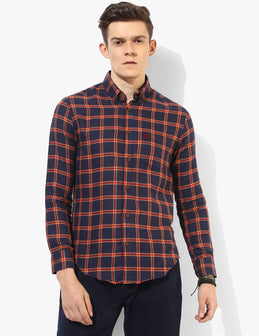 Valiant Blue Checked Shirt - Tuck N Stitch