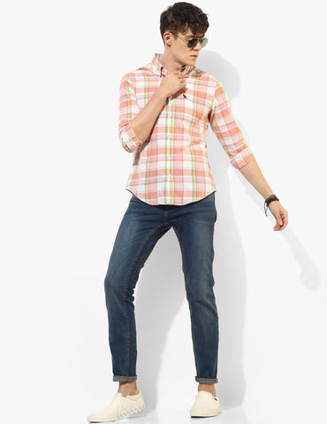 Herculean Multi-coloured Madras Shirt - Tuck N Stitch