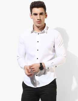 Mannish White Egyptian Cotton Shirt