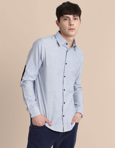 Light Blue Finest Dobby Shirt