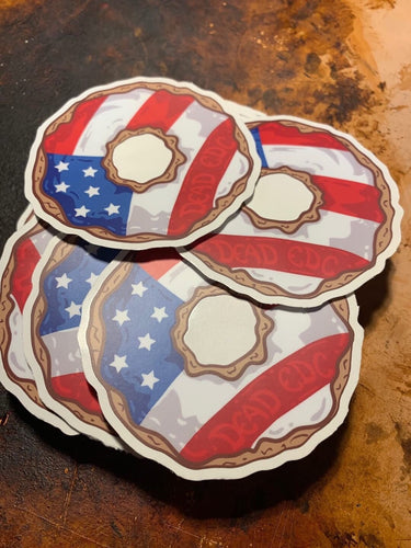 Patriot Donut Decal