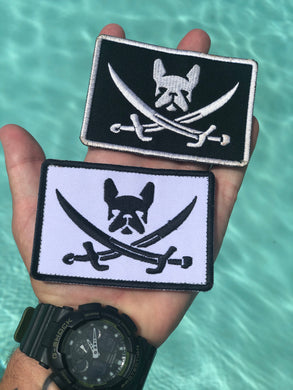 Embroidered Pirate Frenchie
