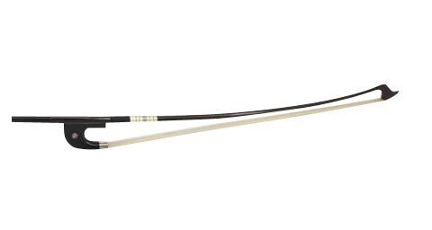 Buy Wholesale Concert Grade German Style Coffee Color Ebony & Carbon Fiber Bass Performance Round Bow