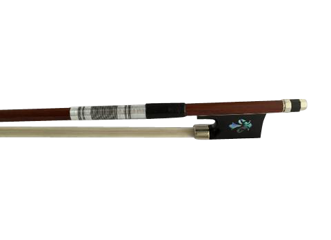 Buy Wholesale High Quality Shell Carved Ebony & Brazilian Wood Violin Performance Round Bow