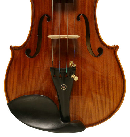 Wholesale Model SRV1009 Professional Level Solid Spruce & Ebony Made Violin Different Sizes with Accessories
