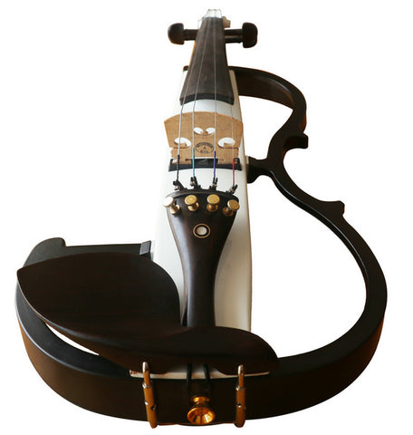 Wholesale Model SREV10010 Concert Grade Piano Lacquer Coated Electric Violin with Accessories