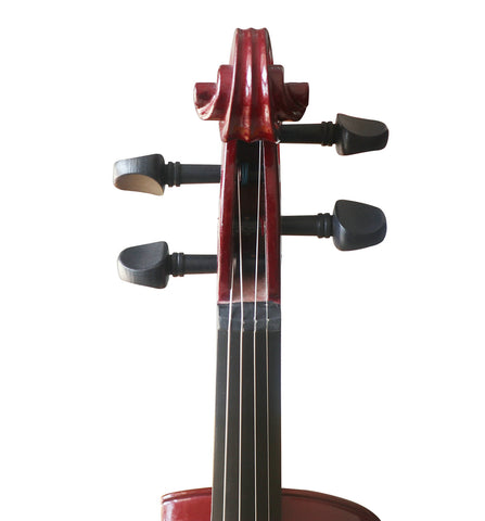 Buy Wholesale Professional Level Brown Color Piano Lacquer Coated Electric Violin with Accessories