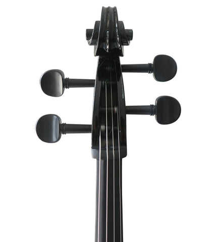 Buy Wholesale Professional Level Black Color Piano Lacquer Coated Electric Cello with Accessories