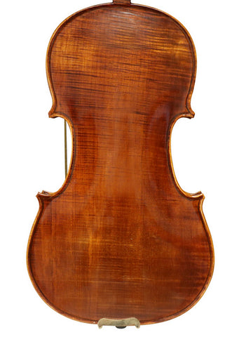 Wholesale Model SRV10012 Concert Grade Solid Spruce & Ebony Made Whole Piece Back Violin Different Sizes with Accessories