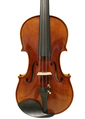 Wholesale Model SRV10011 Concert Grade Handmade Solid Spruce & Ebony Made Violin Different Sizes with Accessories