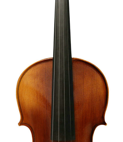 Wholesale Model SRV1005 Professional Solid Spruce & Ebony Tiger Stripe Violin Different Sizes with Accessories