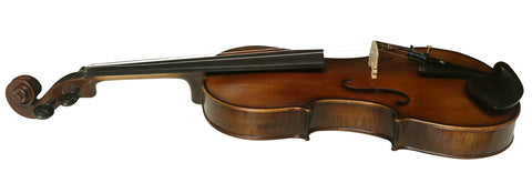 Wholesale Model SRV1008 Professional Solid Spruce & Ebony Made Tiger Stripe Violin Different Sizes with Accessories