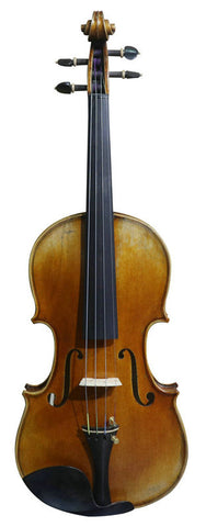 Wholesale Model SRV10022 Concert Grade European Material Retro Style Solid Spruce & Ebony Made Violin with Accessories