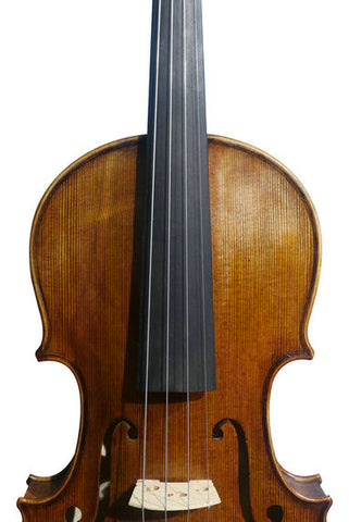 Wholesale Model SRV10023 Concert Grade European Material Retro Style Solid Spruce & Ebony Made Violin with Accessories