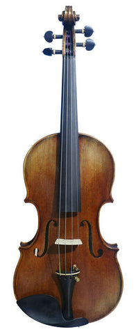 Wholesale Model SRV10021 Concert Grade Retro Style Solid Spruce & Ebony Made Violin with Accessories
