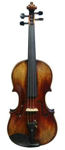 Wholesale Model SRV10018 Concert Grade Retro Style Solid Spruce & Ebony Made Violin with Accessories