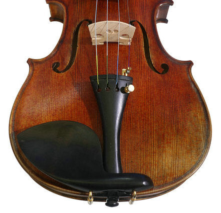Wholesale Model SRV10020 Concert Grade Retro Style Solid Spruce & Ebony Made Violin with Accessories