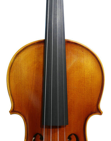 Wholesale Model SRV10014 Concert Grade Solid Spruce & Ebony Made Violin Different Sizes with Accessories