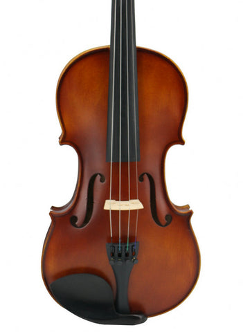 Wholesale Model SRV1007 Professional Korean Type Solid Wood & Ebony Matte Painting Violin Different Sizes with Accessories
