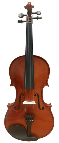 Wholesale Model SRV1001 Beginner Level Solid Spruce Light Painting Violin Different Sizes with Accessories