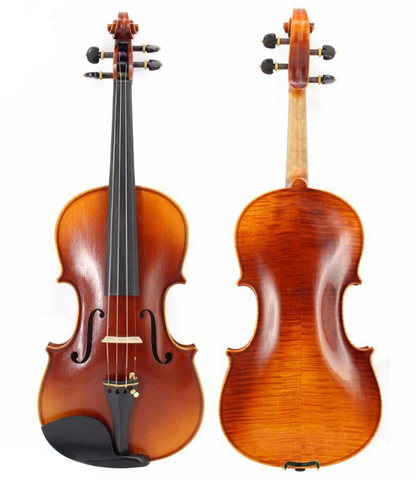 Buy & Wholesale Premium Quality Solid Spruce & Ebony Retro Style Violin Different Sizes with Accessories