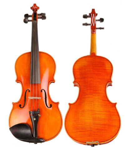 Buy & Wholesale Concert Grade Solid Spruce & Ebony Made Flamed Violin Different Sizes with Accessories