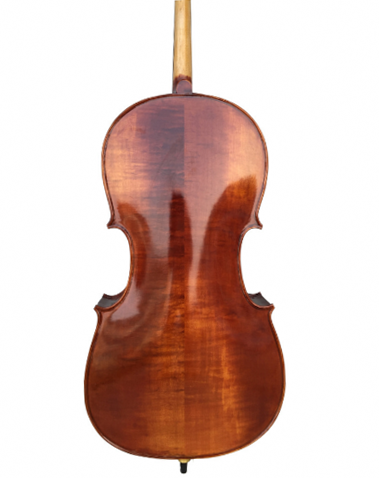 Wholesale Model SRC1004 Professional Level Solid Spruce & Maple Bright Painting with Wood Grains Cello Different Sizes with Accessories