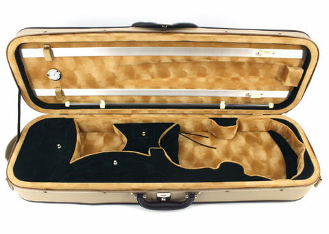 Buy Wholesale Quality PV Shockproof Violin Square Case with Hygrometer