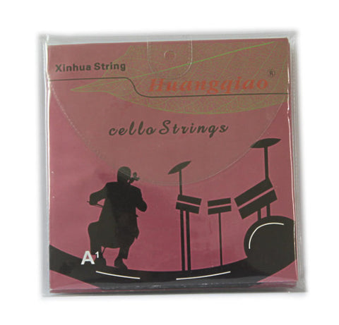Buy Wholesale Concert Grade Huangqiao Brand Cello Silver Strings One Set